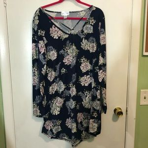 Just Be Floral Print Dress